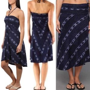 Patagonia Shibori tie dye Kamala skirt dress